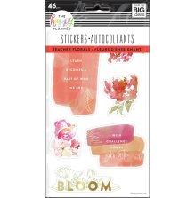 Me & My Big Ideas Happy Planner Stickers 5 Sheets - Teacher Florals