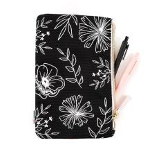 Me & My Big Ideas CLASSIC Banded Pouch - Neutral Florals