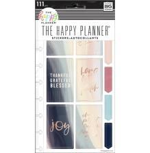 Me & My Big Ideas Happy Planner Stickers 5 Sheets - Joy & Faith