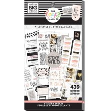 Me & My Big Ideas Happy Planner Sticker Value Pack - Wild Styled 439