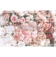 Prima Re-Design Decoupage Tissue Paper 19X30 2/Pkg - Angelic Rose Garden