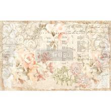 Prima Re-Design Decoupage Tissue Paper 19X30 2/Pkg - Floral Parchment