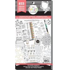 Me & My Big Ideas Happy Planner Sticker Value Pack - Journaling Doodles