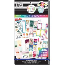 Me & My Big Ideas Happy Planner Sticker Value Pack - Color Story 486