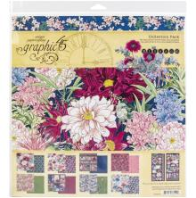 Graphic 45 Collection Pack 12X12 - Blossom
