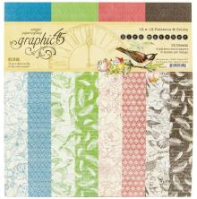 Graphic 45 Double-Sided Paper Pad 12X12 - Bird Watcher