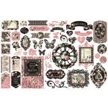 Graphic 45 Cardstock Die-Cuts - Elegance