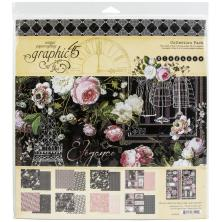 Graphic 45 Collection Pack 12X12 - Elegance