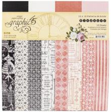 Graphic 45 Double-Sided Paper Pad 12X12 - Elegance