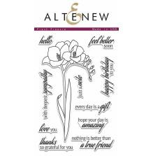 Altenew Clear Stamps 4X6 - Fresh Freesia