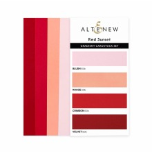 Altenew Gradient Cardstock Set - Red Sunset