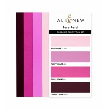 Altenew Gradient Cardstock Set - Rose Petal