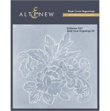 Altenew Embossing Folder - Book Cover Engravings