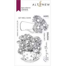 Altenew Paint A Flower - Chamomile Outline