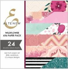 Altenew 6X6 Paper Pack - Wildflower