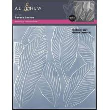 Altenew Embossing Folder - Banana Leaves 3D