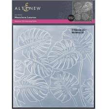 Altenew Embossing Folder - Monstera Leaves 3D