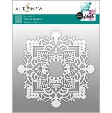 Altenew Stencil 6X6 - Henna Square