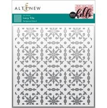 Altenew Stencil 6X6 - Lacy Tile