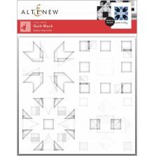 Altenew Stencil 6X6 4/Pkg - Quilt Block