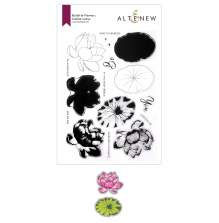 Altenew Clear Stamp And Die Build A flower - Indian Lotus