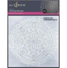 Altenew Embossing Folder - Charming Mandala 3D