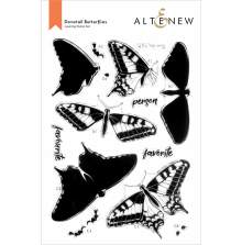 Altenew Clear Stamps 6X8 - Dovetail Butterflies