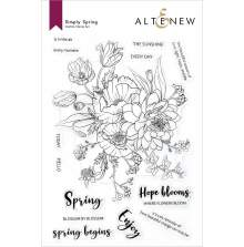 Altenew Clear Stamps 6X8 - Simply Spring