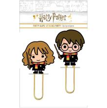 Paper House Puffy Clips 2/Pkg - Harry & Hermoine