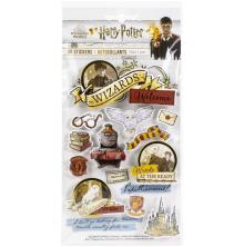 Paper House 3D Stickers - Harry Potter Watercolors