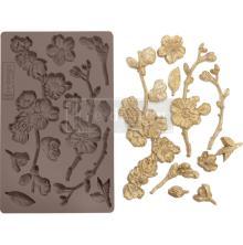 Prima Redesign Mould 5X8 - Cherry Blossoms
