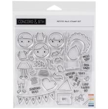 Concord & 9th Clear Stamps 6X6 - Petite Pals