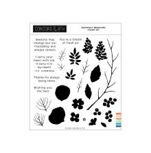 Concord & 9th Clear Stamps 6X6 - Seasonal Branches