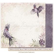 Maja Design Tropical Garden 12X12 - Purple parrot