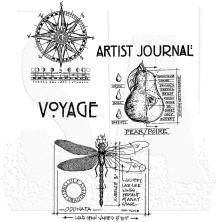 Tim Holtz Cling Stamps 7X8.5 - Classics #1