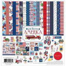 Carta Bella Collection Kit 12X12 - God Bless America