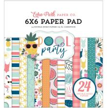 Echo Park Double-Sided Paper Pad 6X6 - Pool Party