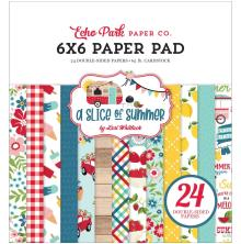 Echo Park Double-Sided Paper Pad 6X6 - A Slice Of Summer
