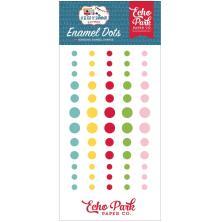 Echo Park Adhesive Enamel Dots 60/Pkg - A Slice Of Summer