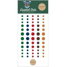 Carta Bella Adhesive Enamel Dots 60/Pkg - Outdoor Adventures