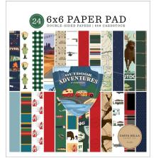 Carta Bella Double-Sided Paper Pad 6X6 - Outdoor Adventures