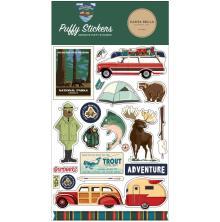 Carta Bella Puffy Stickers - Outdoor Adventures