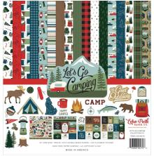 Echo Park Collection Kit 12X12 - Lets Go Camping