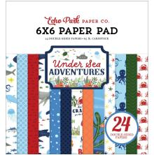 Echo Park Double-Sided Paper Pad 6X6 - Under Sea Adventures