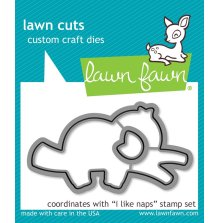 Lawn Fawn Dies - I Like Naps