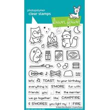 Lawn Fawn Clear Stamps 4X6 - S´more The Merrier