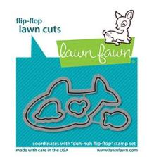 Lawn Fawn Dies - Duh-Nuh Flip-Flop