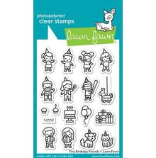Lawn Fawn Clear Stamps 3X4 - Tiny Birthday Friends