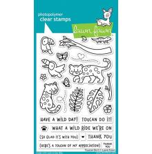 Lawn Fawn Clear Stamps 4X6 - Toucan Do It