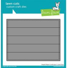 Lawn Fawn Dies - Simple Stripes Landscape